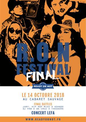 RON FINAL • R.O.N Festival Edition 2018
