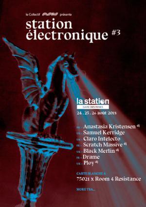 Station électronique ³ : CLARO INTELECTO — SAMUEL KERRIDGE — PLOY