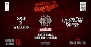 Return of the boom bap - PARIS HIP HOP