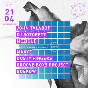 Concrete: John Talabot, DJ Sotofett, Mezigue
