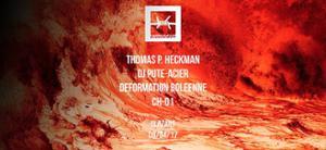 UNDERGUT invite Thomas P. Heckmann, d_b & Dj Pute Acier