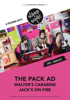 The Pack AD • Jack's On Fire / Supersonic