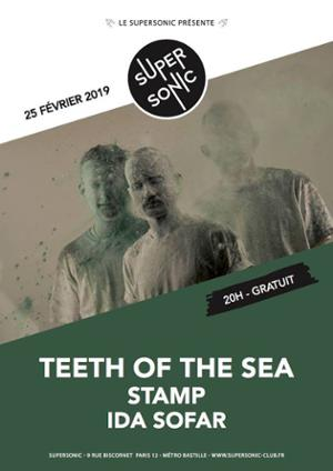 Teeth Of The Sea • Stamp • Ida Sofar / Supersonic (Free entry)