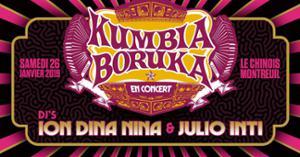 Kumbia Boruka en concert - Djs Ion Dina Nina et Julio Inti