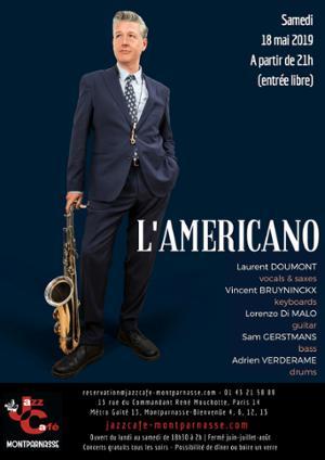 Laurent Doumont, L'Americano au Jazz Café Montparnasse