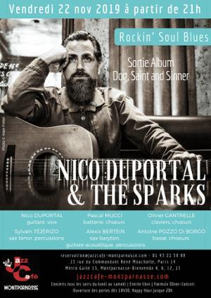 Nico Duportal & The Sparks au Jazz Café Montparnasse
