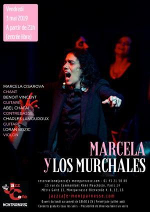 Marcela y Los Murchales au Jazz Café Montparnasse