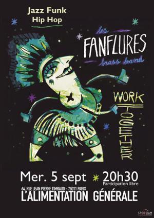 Les Fanflures Brass Band // Jazz Funk Hip Hop à l'ALG
