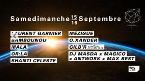 Samedimanche : Laurent Garnier, Bambounou, Mala, Or:la