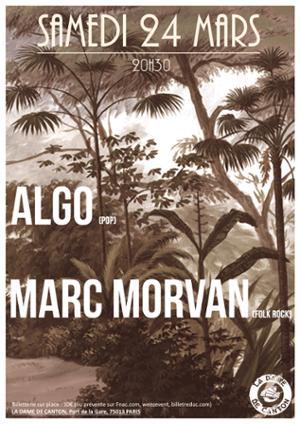 ALGO + Marc Morvan