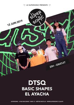 DTSQ (psychedelic punk, séoul) en concert au Supersonic - Free