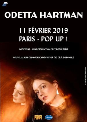 Odetta Hartman // Paris - Pop Up // Lundi 11 février 2019