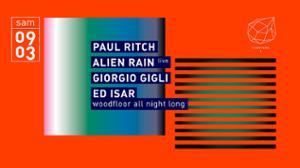 Concrete: Paul Ritch, Alien Rain Live, Giorgio Gigli, Ed Isar