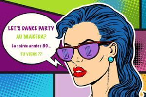 ✧✧ Let's Dance Party 80's au Makeda ✧✧