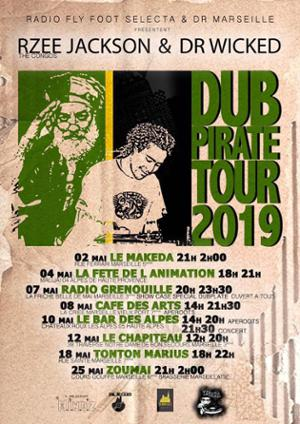 DUB PIRATE TOUR