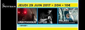 LIVE ME@ - LABOTANIQUE + LU'CID + PALASS