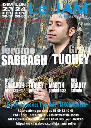 Jérome Sabbagh & Greg Tuohey Quartet