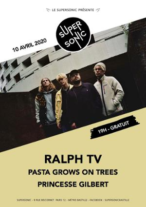 Ralph TV • Pasta Grows On Trees • Princesse Gilbert / Supersonic