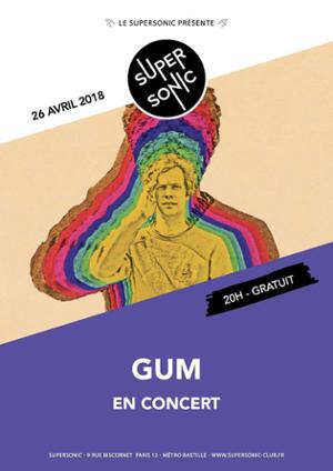 GUM • Faux Real • Emerson Snowe / Supersonic - Free