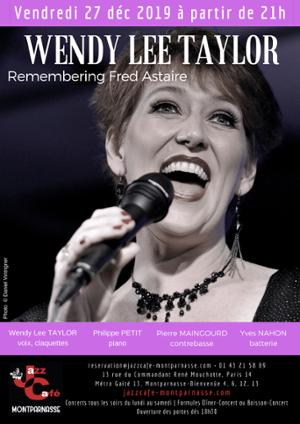 Wendy Lee Taylor, Remembering Fred Astaire au Jazz Café