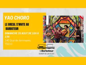 Yao Chorro // Concert au Barboteur