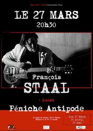 François Staal // Concert // Les Lundis à L'antipode