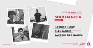 Souldancer invite: Harrison BDP, Aleksandir, Saverio & Hamza