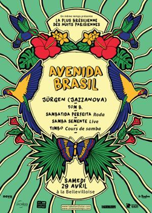 AVENIDA BRASIL : FÊTONS L'ARRIVÉE DU PRINTEMPS