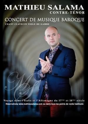 Arias Baroques contre-ténor Mathieu Salama