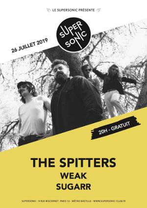The Spitters en concert au Supersonic - Free entry