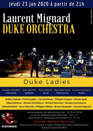 Laurent Mignard Duke Orchestra au Jazz Café Montparnasse