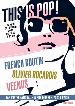 Olivier Rocabois,French Boutik, Veenus à l'International