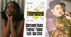 Oberkampf Music Festival : Falana  Kaiit  Bad Child