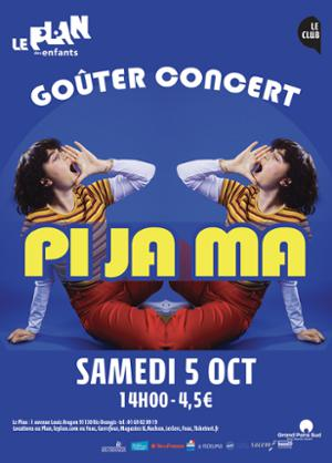 Goûter Concert : Pi Ja Ma