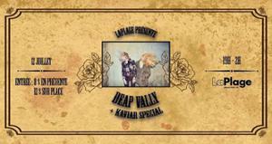 Deap Vally + Kaviar Special à LaPlage de Glazart !