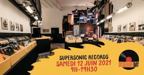 Disquaire Day au Supersonic Records !