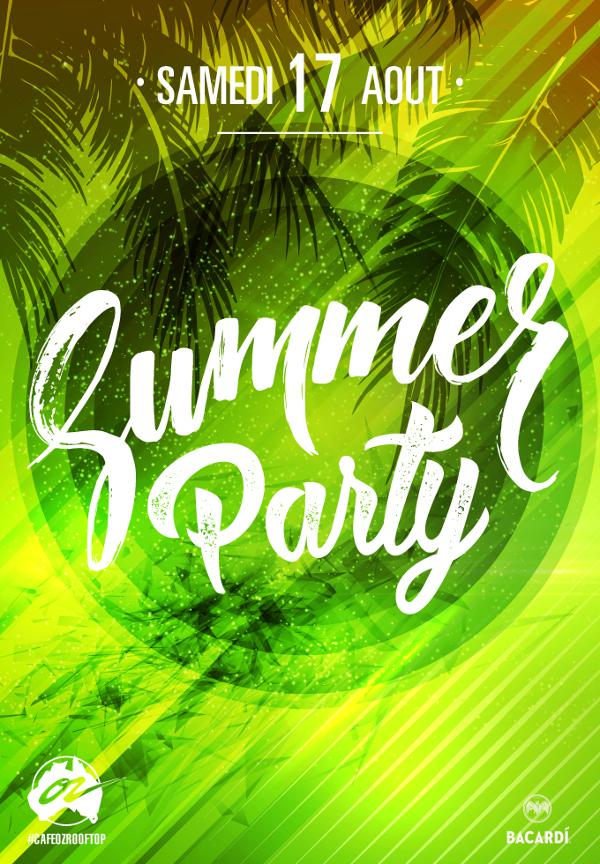 Summer Party @Rooftop