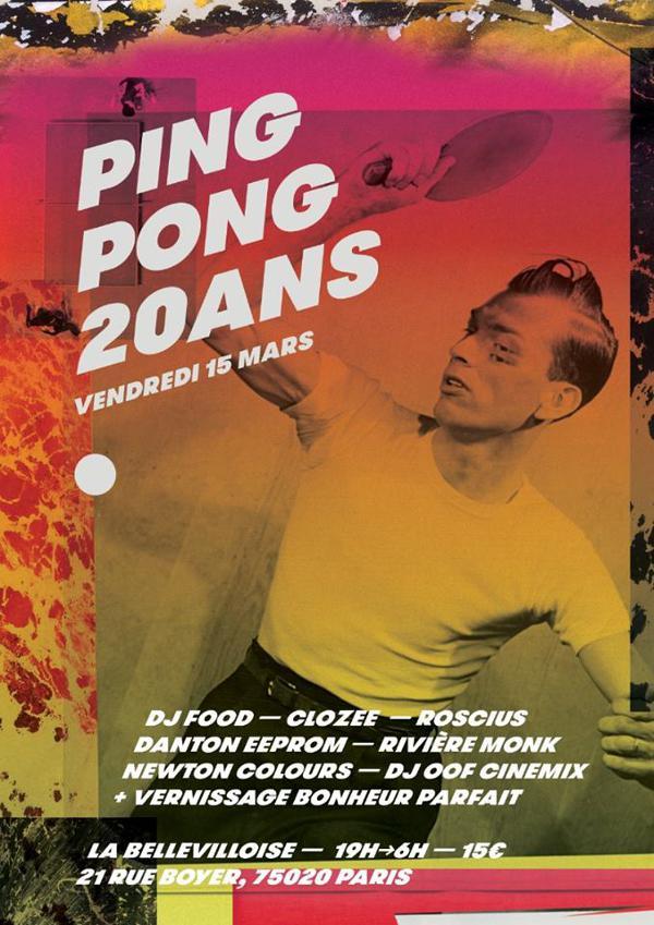 PING-PONG 20 ANS