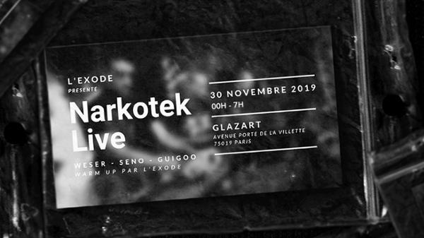 Narkotek Live