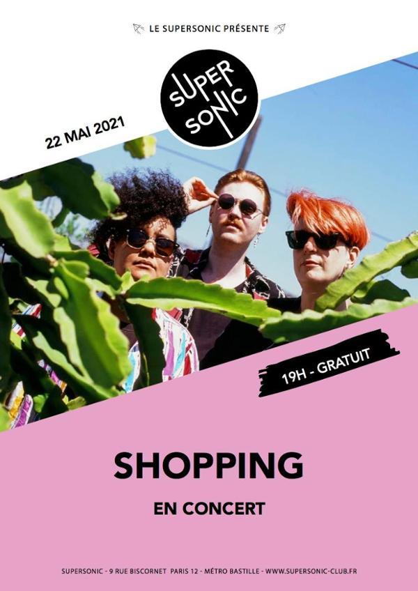 Shopping en concert au Supersonic (Free entry)