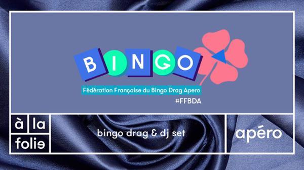 FF Bingo Drag Apéro w/ Minima Gesté & Veronika Von Lear + dj set