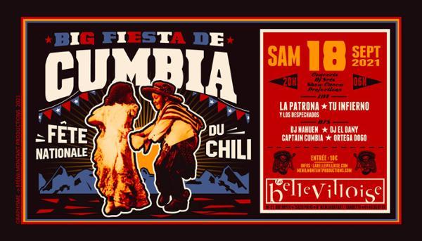 BIG FIESTA DE CUMBIA - FÊTE NATIONALE DU CHILI