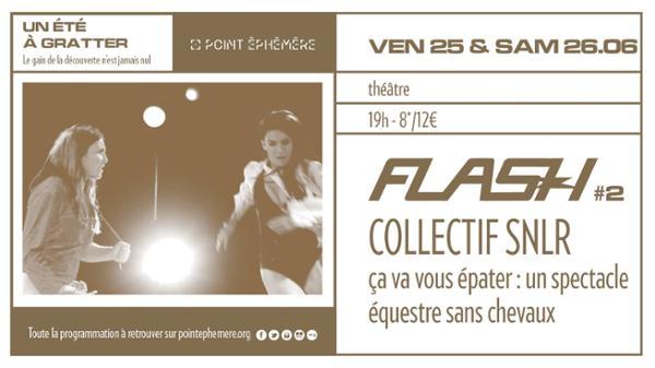 FLASH #2 - Collectif SNLR - Ça doit vous épater