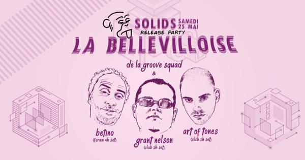 DE LA GROOVE RELEASE PARTY w/ GRANT NELSON, ART OF TONES, BETINO'S RECORD SHOP