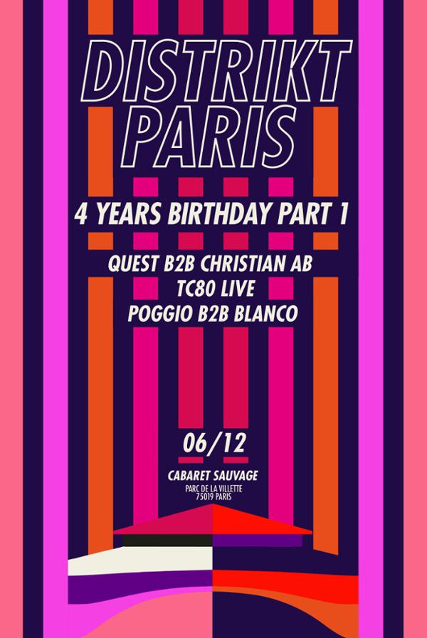 Distrikt Paris 4ans