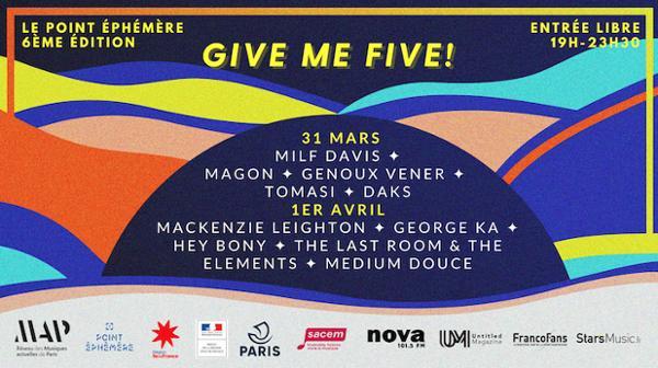 GIVE ME FIVE 2020! - LA FINALE