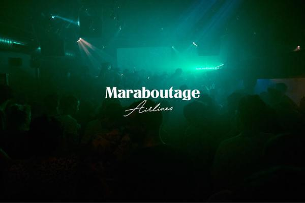 Maraboutage Airlines I Dj Lycox + Dj NinOo (Principe - Lisboa)