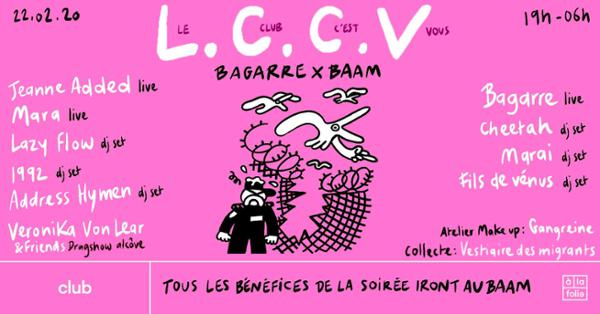 Bagarre x BAAM : Le Club C'est Vous !