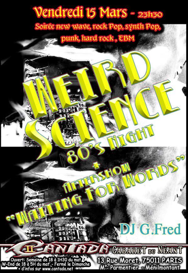 Weird Science - 80's Night