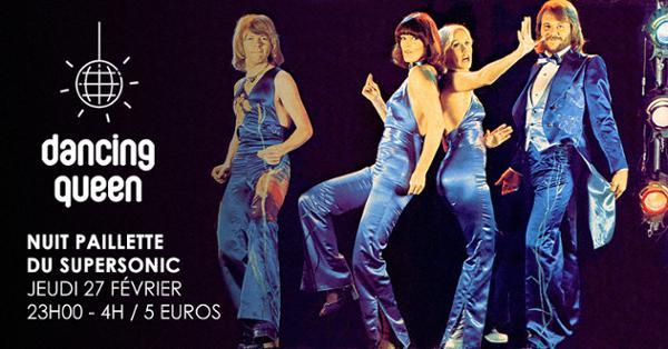 Dancing Queen #13 / Nuit Disco Paillette du Supersonic